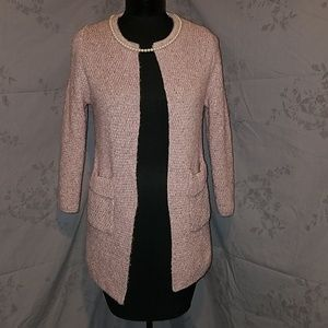 Sweaters - Mauve cardigan sweater small